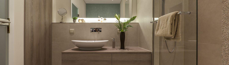 Heizung-Badezimmer-Waschbecken-Referenz