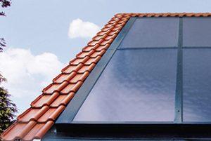 Heizung-Solaranlage-Solar-Kollektor