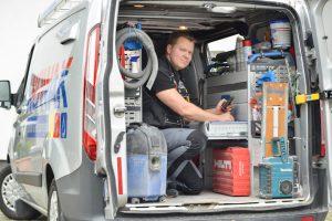 Kundendienst-Notdienst-Heizung-Sanitär-Fahrzeug