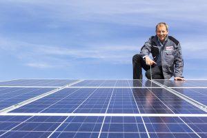 Heizung-Photovoltaik-Photovoltaikkollektor-PV-Anlage