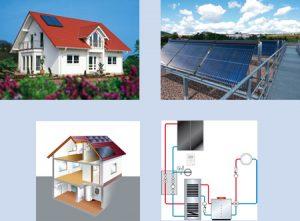 Heizung-Solaranlage