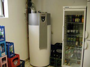 Heizung-Wärmepumpe-Warmwasserspeicher