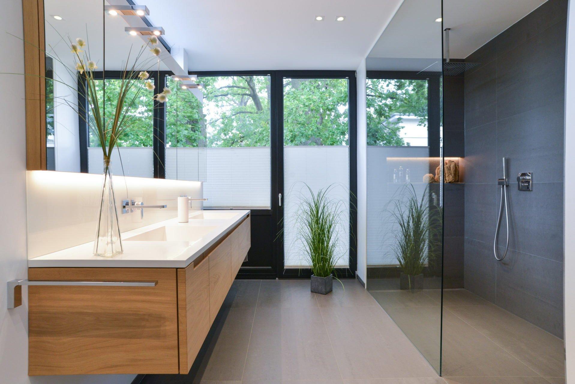 Architektur Pur Referenzbad Waschtisch