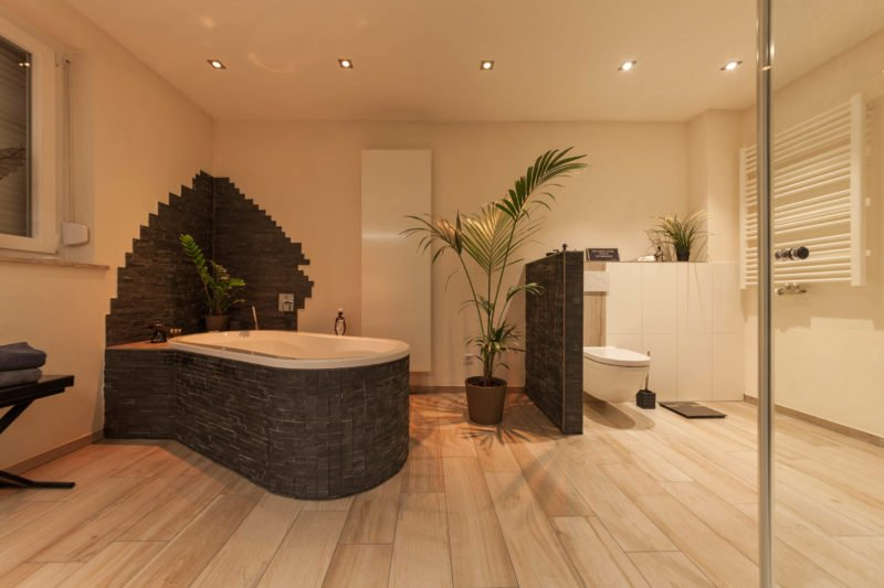 Bad-Referenzbad-die-Regenwald-Dusche-Badewanne-Whirl-Wanne-Whirlpool-Toilette