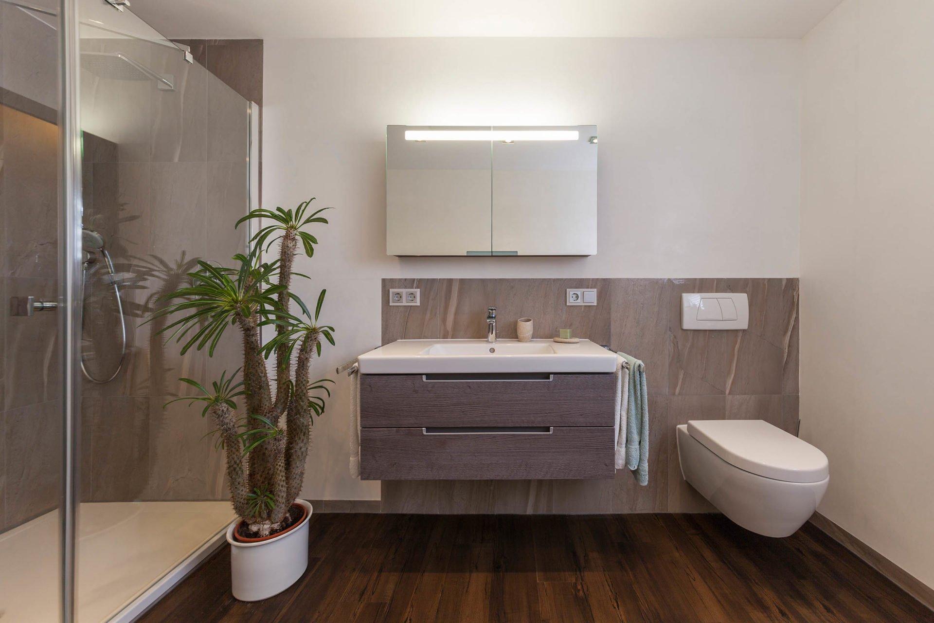 Bad-Referenzbad-marmor-und-holz-Dusche-WC-Spiegelschrank ...
