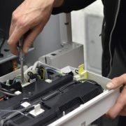 Kundendienst-Heizung-Reparaturarbeiten