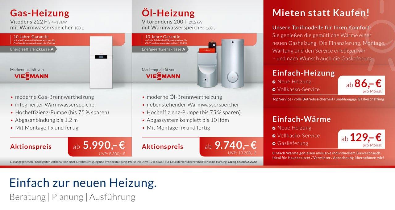 Sehr NOWAK GmbH | Günstige Heizungs-Aktionsangebote | Bergisch Gladbach OE65