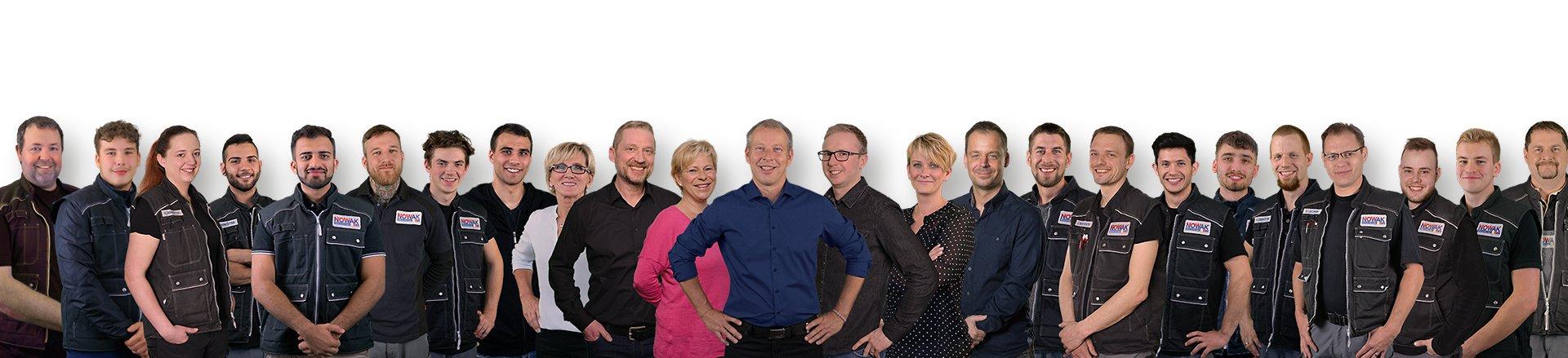 Nowak Mitarbeiter Gruppenfoto