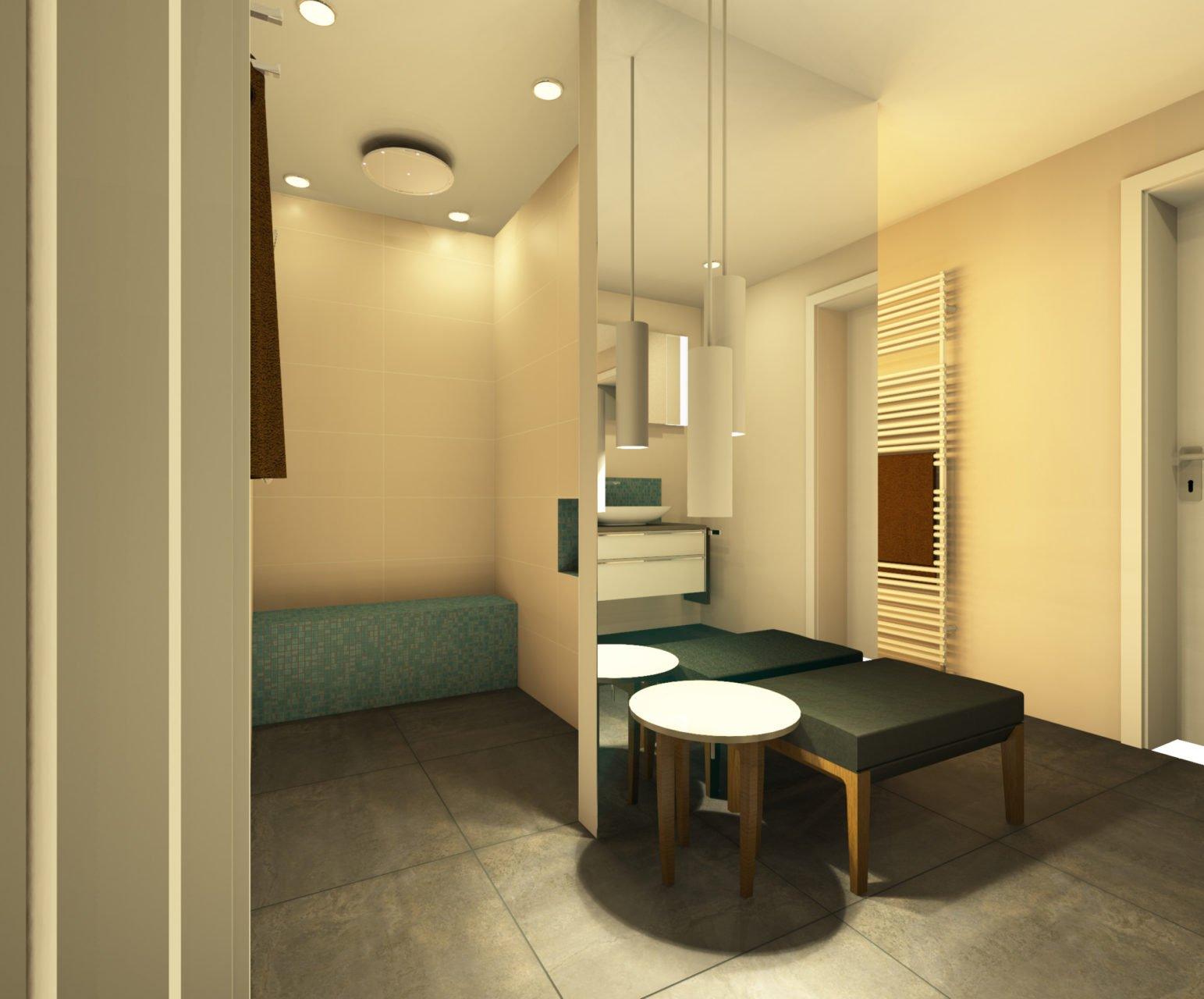 raumkonzept referenz bad 3d planung bodengleiche dusche nowak gmbh bergisch gladbach. Black Bedroom Furniture Sets. Home Design Ideas